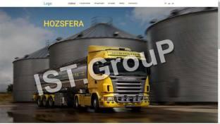 Сайт компании специализирующейся на продажа горюче-смазочных материалов.