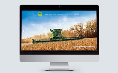 Компания по аренде сельскохозяйственной техники компании John Deere
