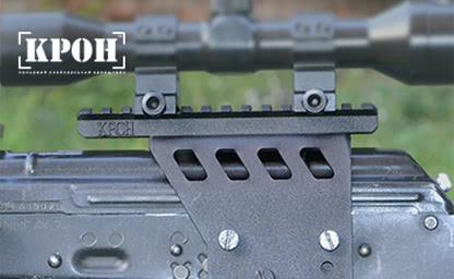 Авторский сайт по продаже снайперского кронштейна «КРОН»