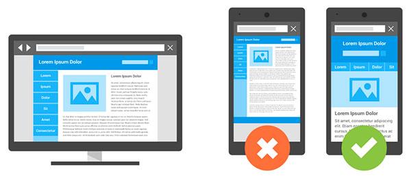 Сравнение простого web-сайта с оптимизированным