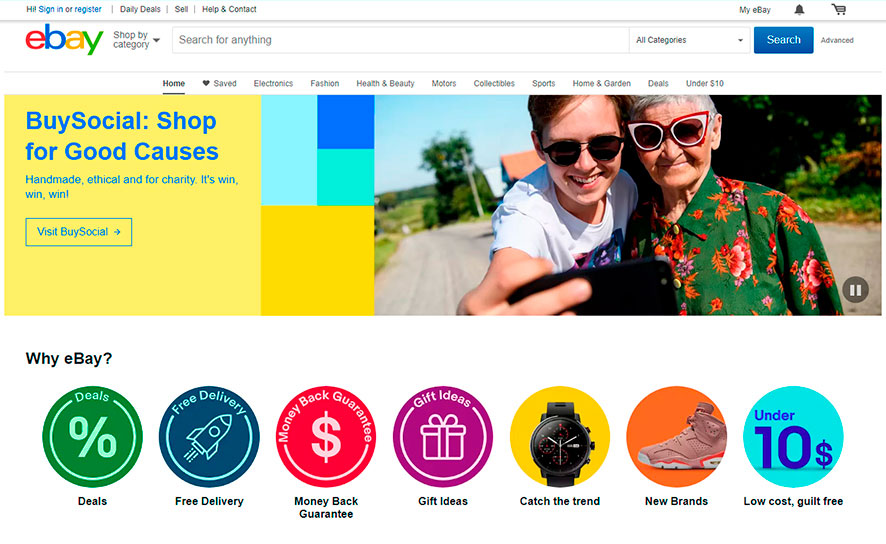 eBay – онлайн-аукцион