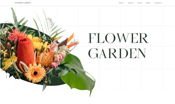 Сайт для магазину квітів