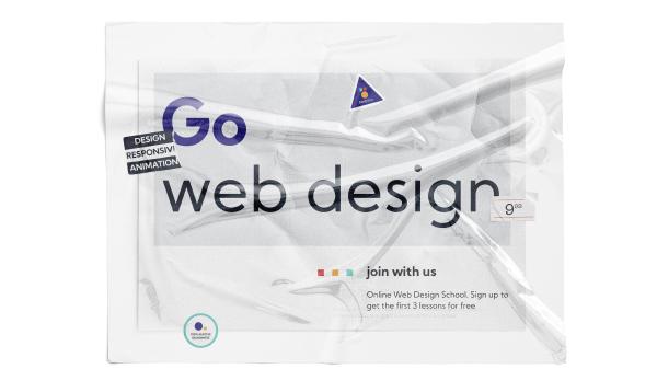 Сайт для школи веб-дизайну.