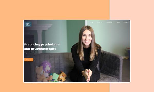 Сайт приватного психолога