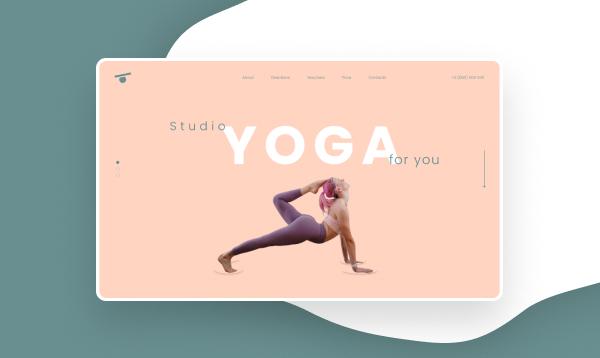 Сайт студії йоги